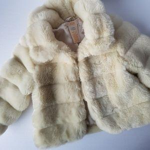 Joe Fresh Toddler Girl Faux Fur Coat